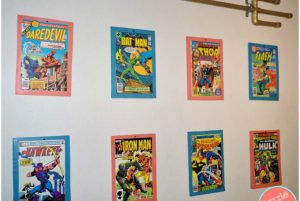Comic Book Theme Wall Décor and Arts for Your Home
